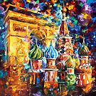 From Paris To Moscow — Buy Now Link - www.etsy.com/listing/211585378 by Leonid  Afremov