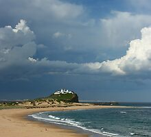 Newcastle Series - Clouds over Nobbys Beach by nammo