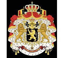 Belgian coat of arms Photographic Print