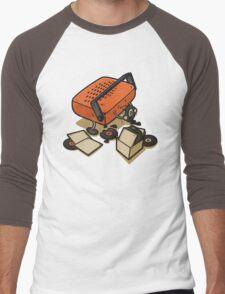 Record Eater Men's Baseball ¾ T-Shirt