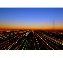 Lightspeed City Photographic Print