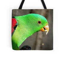 I am a true beauty! - Red Wing Parrot - NZ - Gore Tote Bag