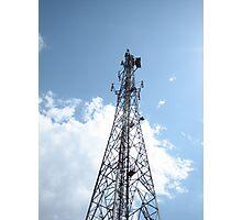 Cellular mobile telecom tower Photographic Print