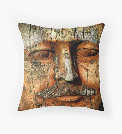 Head Throw Pillow