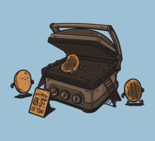 Pancakes Solarium Kids Tee