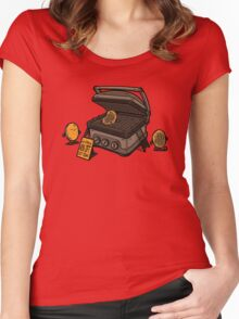 Pancakes Solarium Women's Fitted Scoop T-Shirt