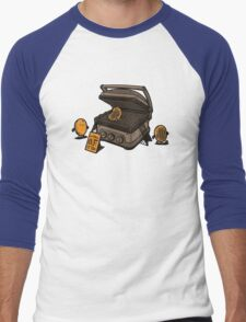 Pancakes Solarium Men's Baseball ¾ T-Shirt