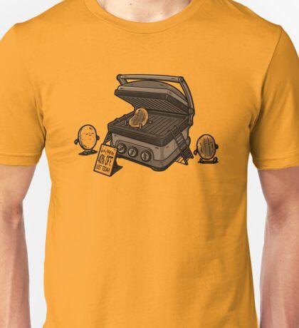 Pancakes Solarium Unisex T-Shirt