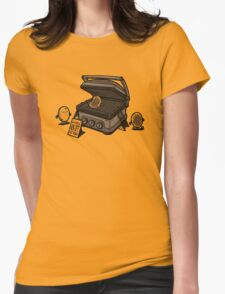 Pancakes Solarium Womens Fitted T-Shirt