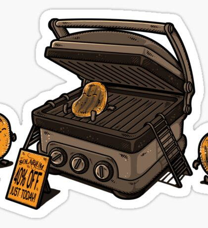 Pancakes Solarium Sticker