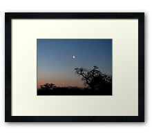 Pre-dawn Framed Print