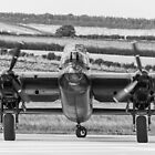 Lancaster Bomber by Lee Wilson