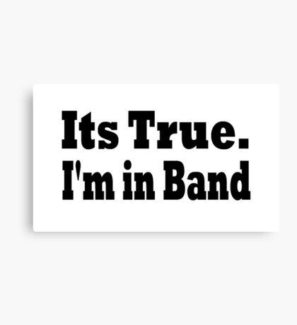 Band Canvas Print