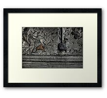 Skirting And Switched Framed Print