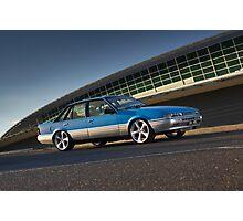 Blue Holden Commodore VL Turbo Photographic Print