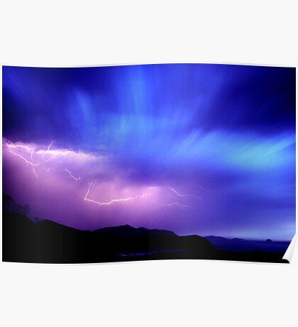 Summer Storm, Wilsons Promontory N.P. Poster
