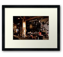 In The Barn Framed Print