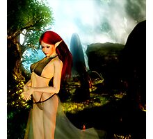 Elven Thoughts Photographic Print