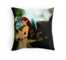 Elven Thoughts Throw Pillow
