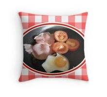 Aussie Breakfast Throw Pillow