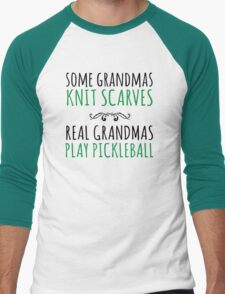 Excellent 'Some Grandmas Knit Scarves, Real Grandmas Pickleball' T-shirt, Accessories and Gifts T-Shirt