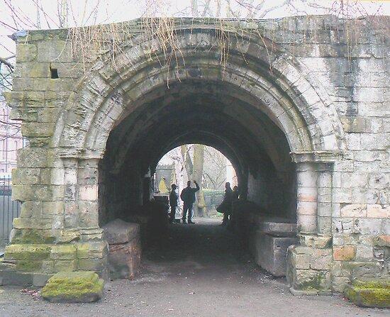 Portals to York's St. Leonard's Hospice by AARDVARK