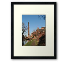 Factory tower Framed Print