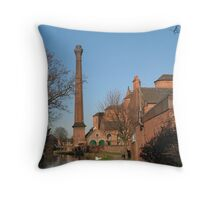 Factory tower Throw Pillow