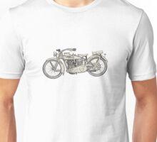 1917 vintage Harley Davidson Unisex T-Shirt