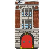 The Ghostbusters Fire Station iPhone Case/Skin