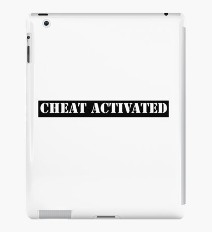 Cheat Activated iPad Case/Skin