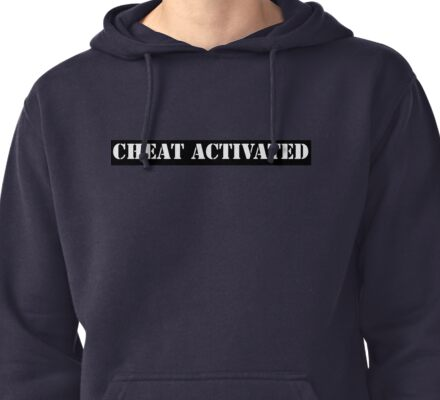 Cheat Activated Pullover Hoodie