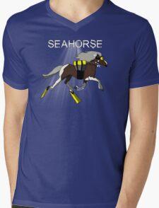 Seahorse! Mens V-Neck T-Shirt