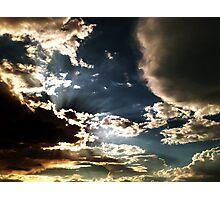 big sky 2 Photographic Print