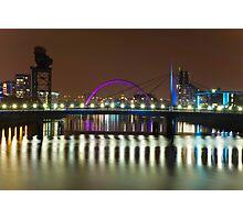 River Clyde - Glasgow, Scotland Photographic Print