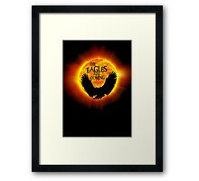 The Eagles Are Coming Framed Print