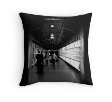 urb departure Throw Pillow