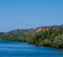 East Alligator River - Arnhem Land - Kakadu National Park Sticker