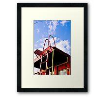 N&W 5575 Caboose #2 Framed Print
