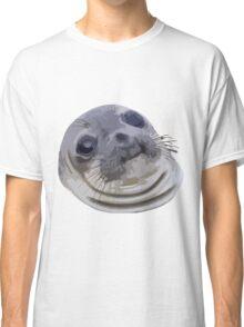 Awkward Seal Classic T-Shirt