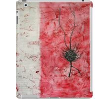 Untitled (Red) iPad Case/Skin