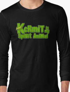 Kermit is my spirit animal Long Sleeve T-Shirt