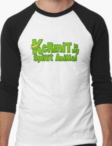 Kermit is my spirit animal Men's Baseball ¾ T-Shirt