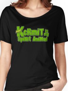 Kermit is my spirit animal Women's Relaxed Fit T-Shirt
