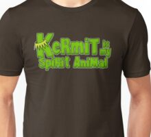 Kermit is my spirit animal Unisex T-Shirt