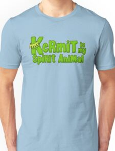 Kermit is my spirit animal Unisex T-Shirt
