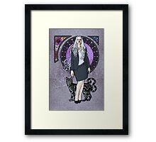 Queen of Air and Darkness Framed Print