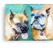 Bojo and Tazmo Canvas Print