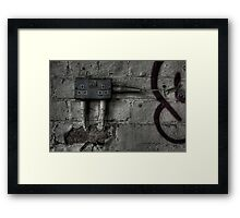 Isolated Switch Framed Print