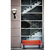 Benched Photographic Print